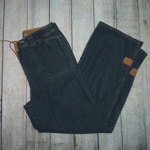 J. Jill Wide Leg High Waisted Jeans 10